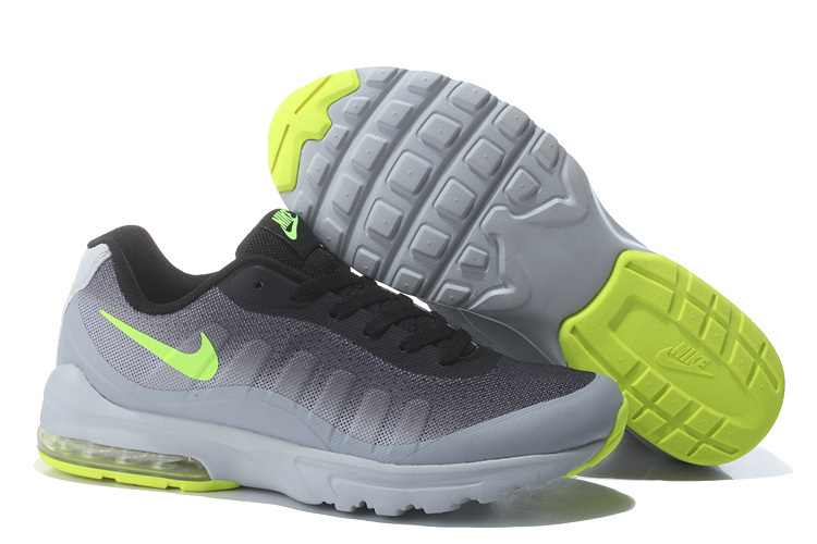 Air Max 95 Black Grey Fluorscent Women Shoes