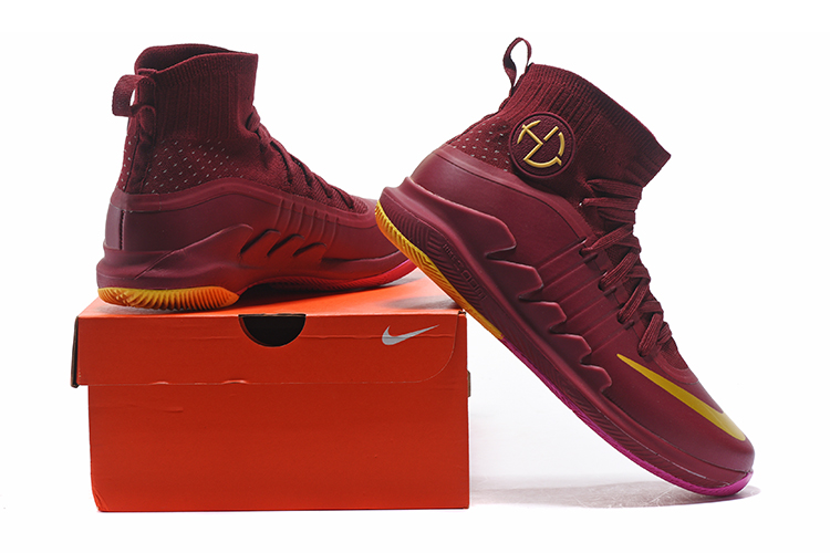 Nike Hyperdunk Green 3 Wine Red Basketball Shoes