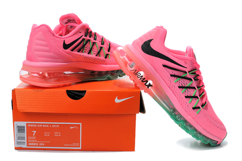 Nike Women Air Max Pink Red Green Runnings