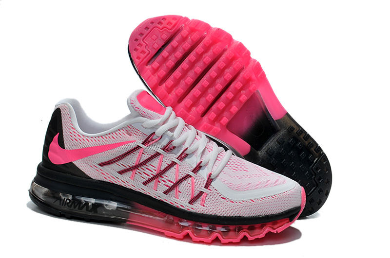 Nike Women Air Max White Pink Black Runnings