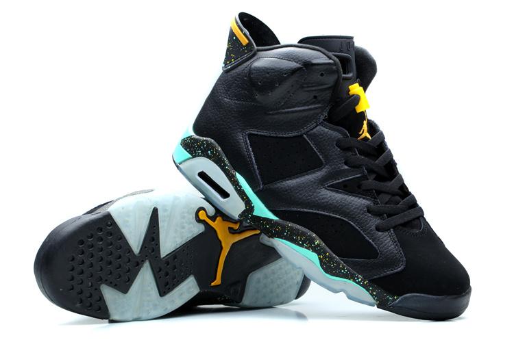 super popular 34a4c 18347 ebay air jordan retro 6 black green d0813 909b0