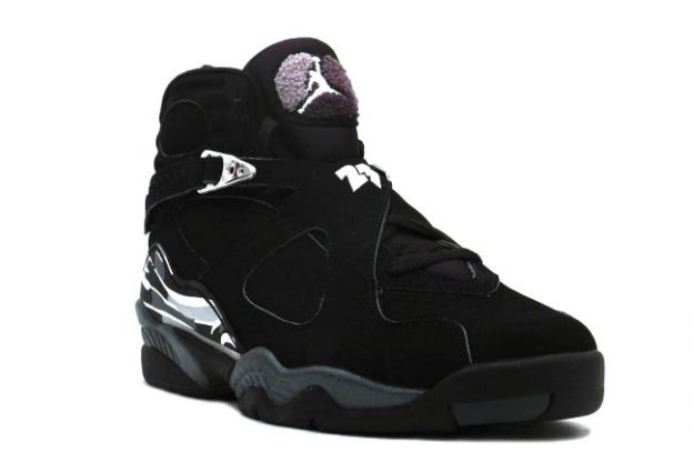 de26f6295c0 Popular Classic Air Jordan 8 Retro Black Chrome Shoes Online ...