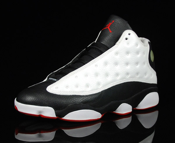 more photos e3a9b d4632 Popular Michael Jordan 13 og White True Red Black Shoes