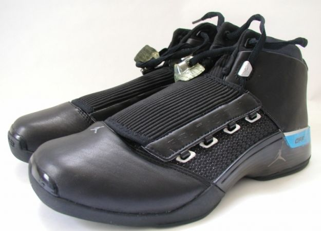 66d07e6b23a5 Original Popular Michael Jordan 17 OG Black Metallic Silver Shoes ...