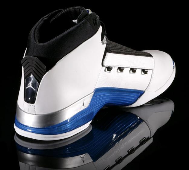 official photos c523e 8036b ... sweden popular michael jordan 17 og white college blue black shoes  2a22c d78e9