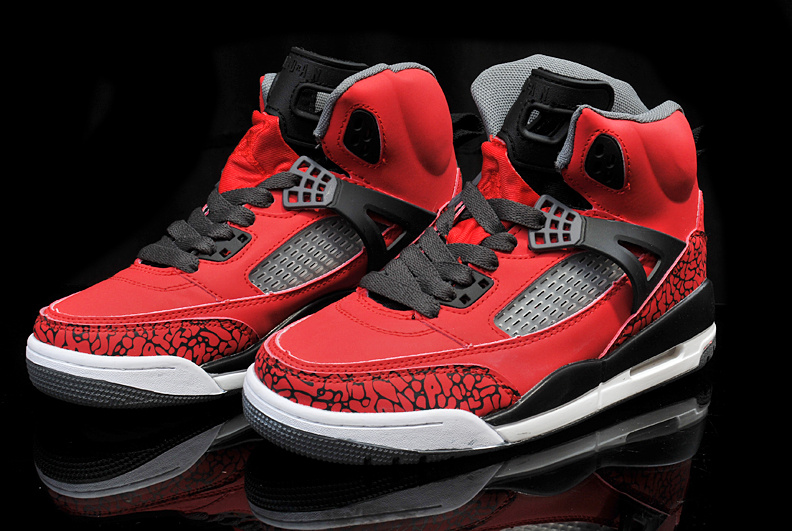 Popular Womens Air Jordan 3.5 Red Black Shoes
