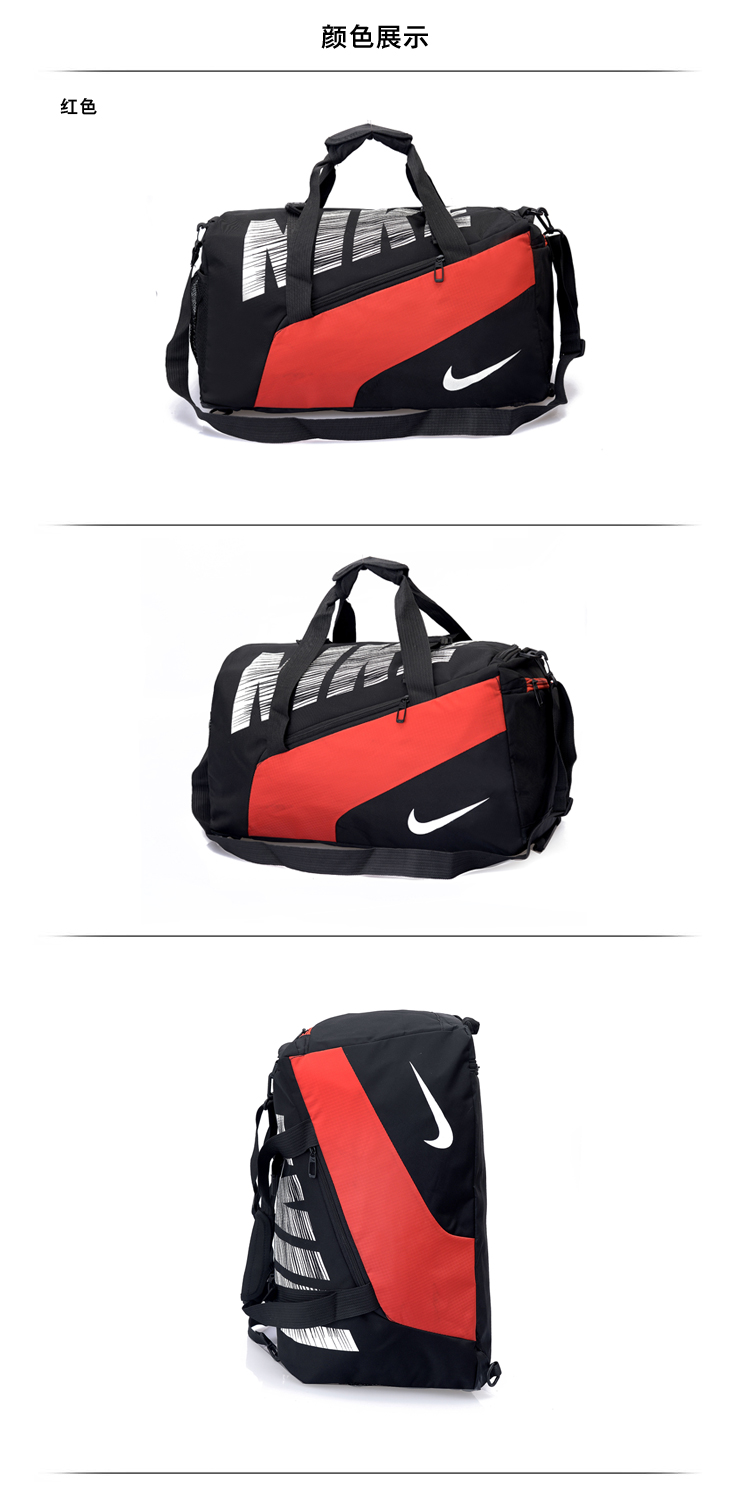 Red Black White Nike Handbag