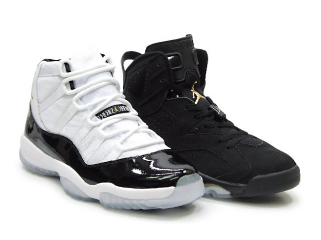 29ae0a9efac1 Special Jordan 6 Retro Black Metallic Gold Jordan 11 Defining Moments  Package DMP Shoes