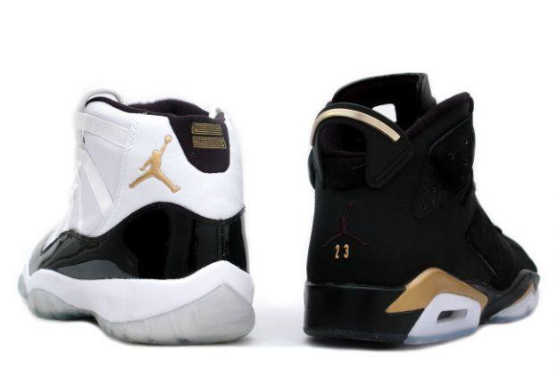 best sneakers ba55c 07fc3 Special Jordan 6 Retro Black Metallic Gold Jordan 11 Defining Moments  Package DMP Shoes