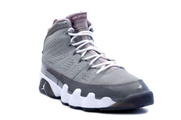 new styles 0e2b7 34180 Special Popular Air Jordan 9 Retro Medium Grey White Cool Grey Shoes