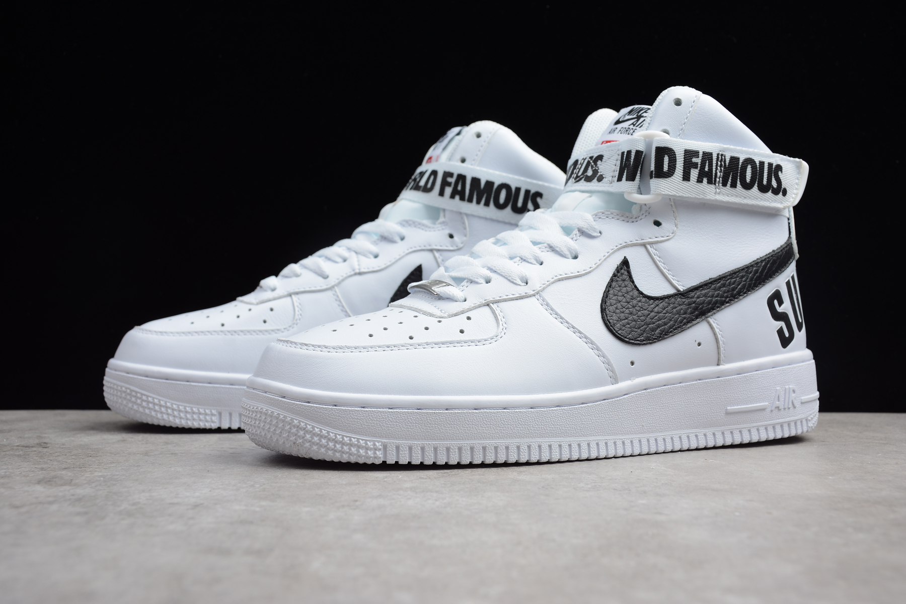 Supreme x Nike Air Force 1 High White