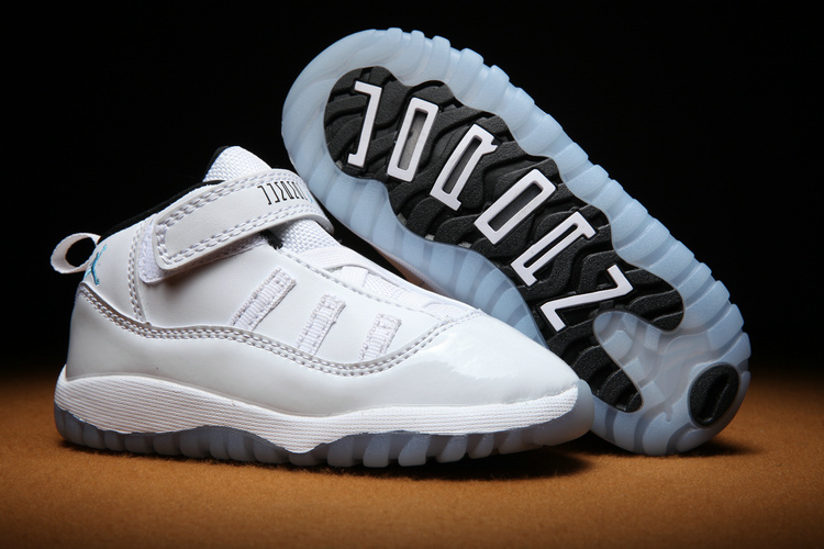 Toddlers Jordan 11 All White Shoes