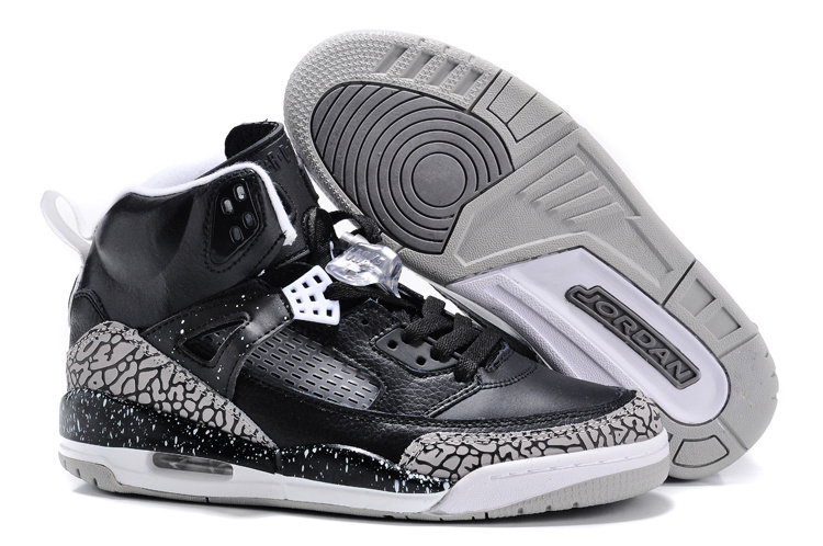 Trendy Womens Air Jordans 3.5 Oreo Black Grey Shoes
