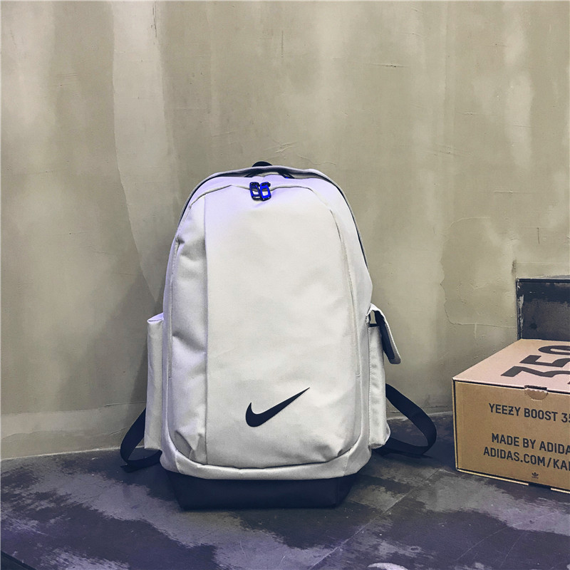 White Nike Backpack For Students