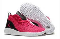Women Jordan Reveal Pink Black White Shoes
