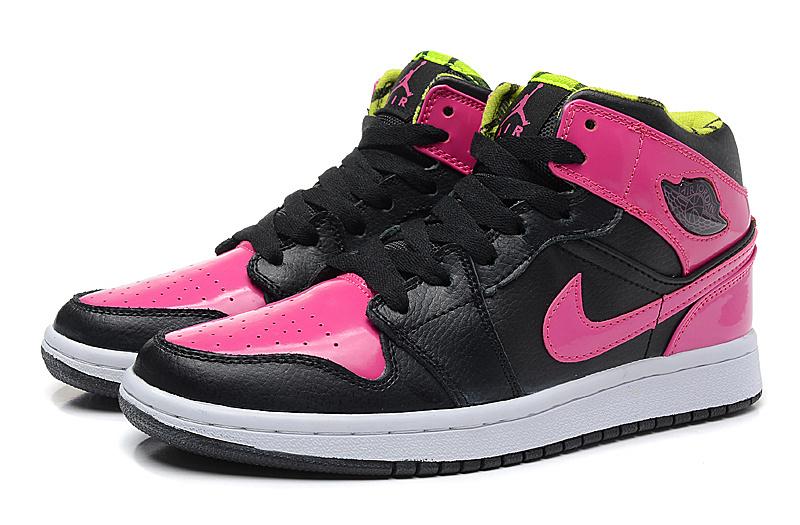 huge discount 22fa2 ff6ec Women Air Jordan 1 Phat GS Pink Black Shoes [WOMEN020 ...