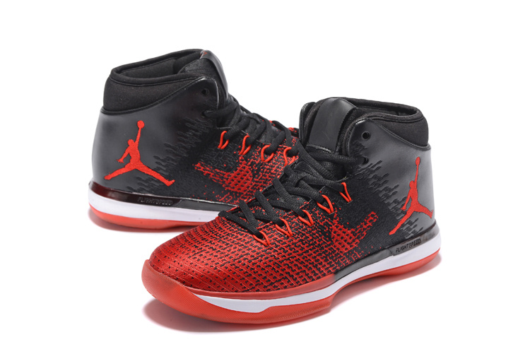 Women Air Jordan 31 Red Black Shoes