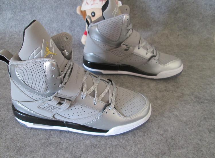 Women Jordan Flight 4.5 Dream Silver Black Shoes