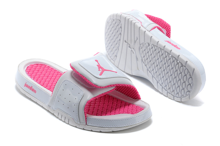 Women Jordan Hydro Retro Grey Pink
