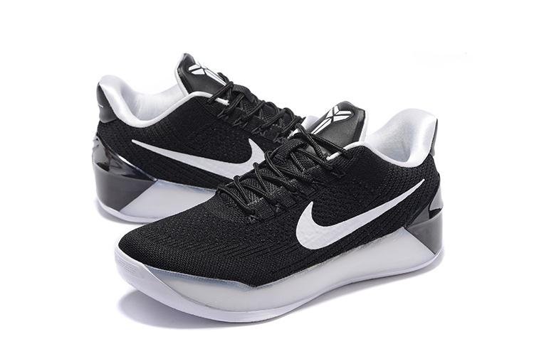 8d6fa8cee267 Women Nike Kobe 12 AD White Black Shoes  18women22207  -  75.00 ...