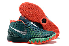 Women Nike Kyrie 1 Deep Green Red Basketball Shoes