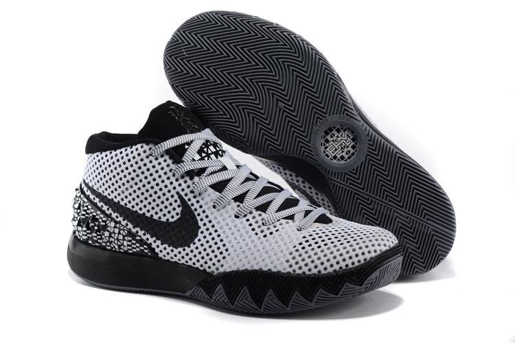 Women Nike Kyrie 1 Grey Black Basketball Shoes