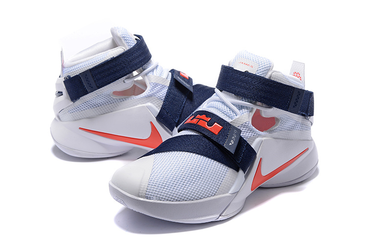 cd4813b240b5 Women Nike Lebron Solider 9 USA Team Basketball Shoes  18women22316 ...
