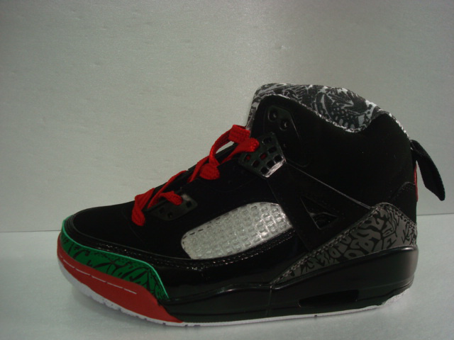 Womens Air Jordan 3.5 Black Cement Green Red Shoes