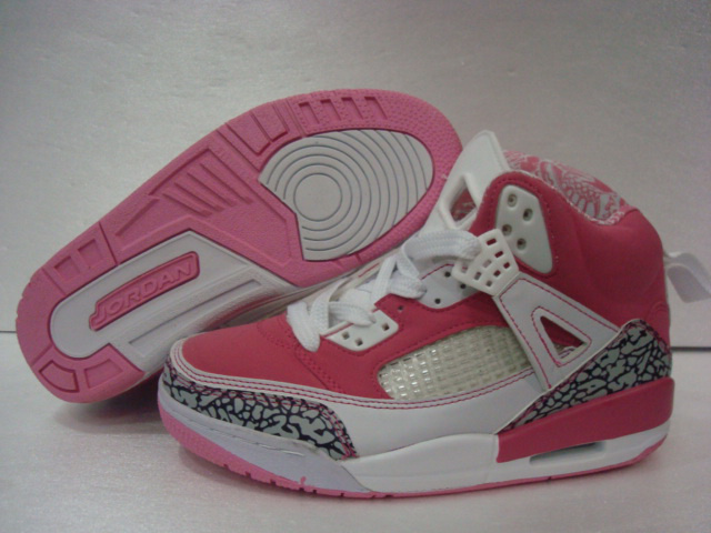 detailed look e1796 6f968 Womens Air Jordan 3.5 Pink White Grey Cement Shoes