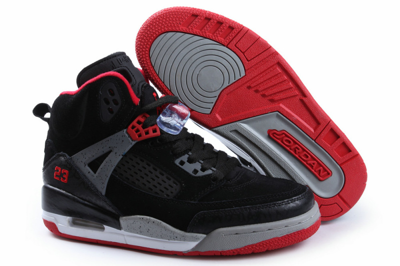 Womens Air Jordan 3.5 Spizike Black Grey Red Shoes