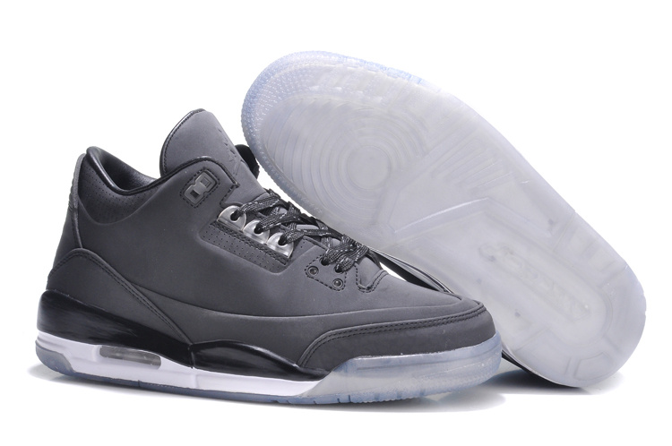 Womens Air Jordan 5Lab3 Dark Grey Black Shoes