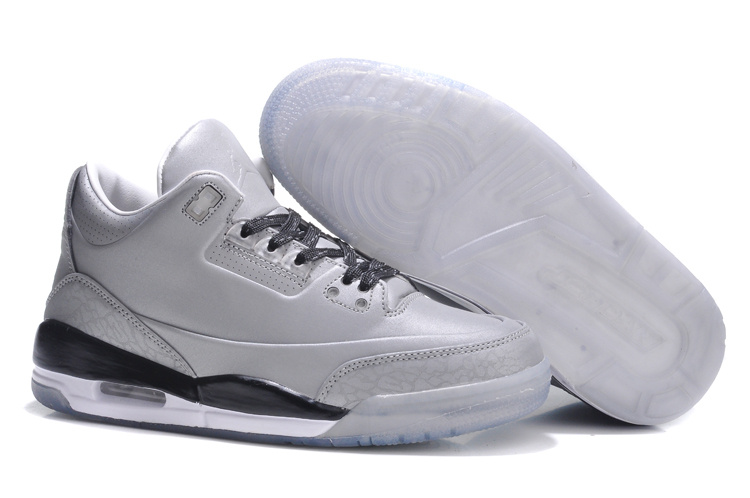 Womens Air Jordan 5Lab3 Grey Black Shoes
