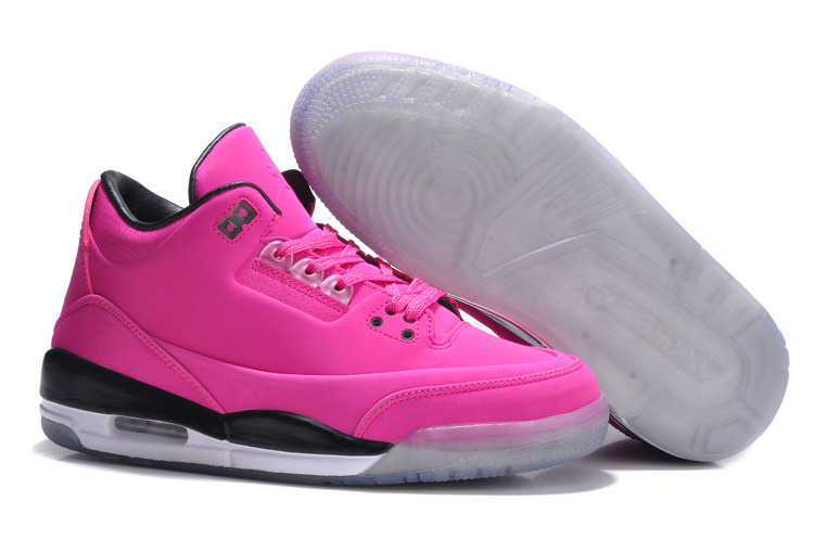 Womens Air Jordan 5Lab3 Pink Black Shoes