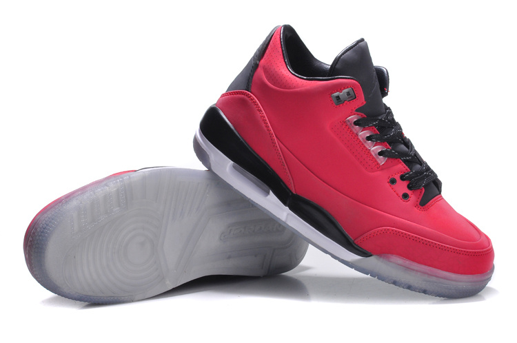 Womens Air Jordan 5Lab3 Red Black Shoes