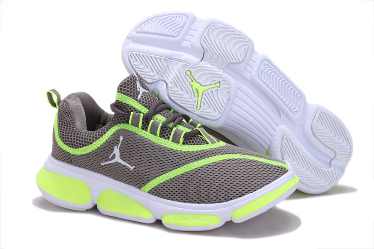on sale 8e788 e0b49 Womens Air Jordan Running Shoes Grey Green On Sale