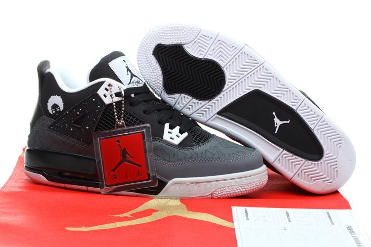 the best attitude df33d fba94 Womens Air Jordans 4 Retro 2014 Oreo Shoes