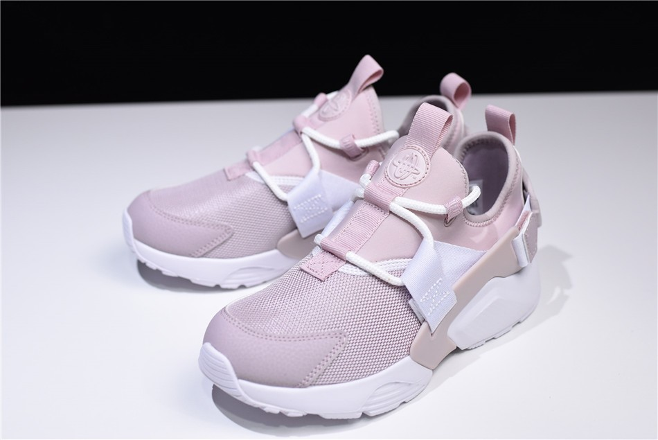 Womens Nike Air Huarache City Low Particle Rose White Pink