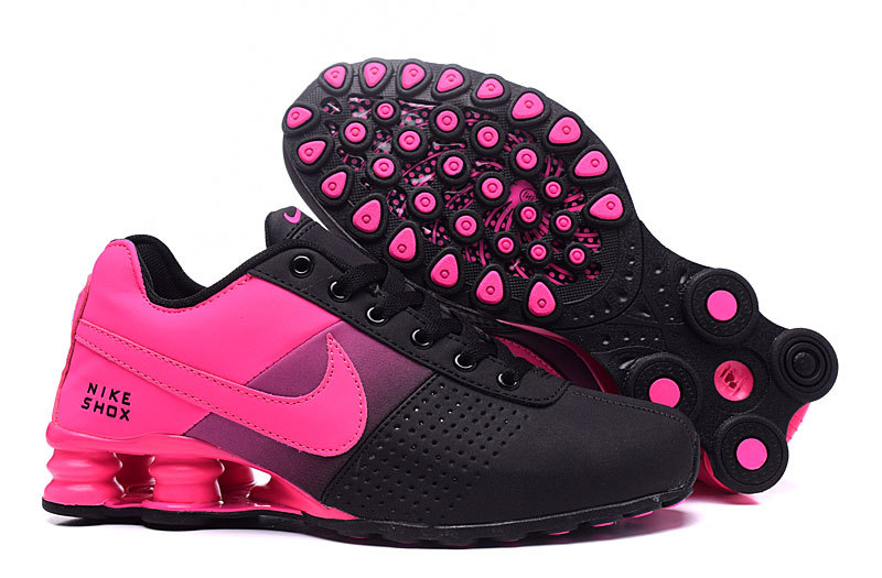 New Women Nike Shox OZ D Pink Black Shoes