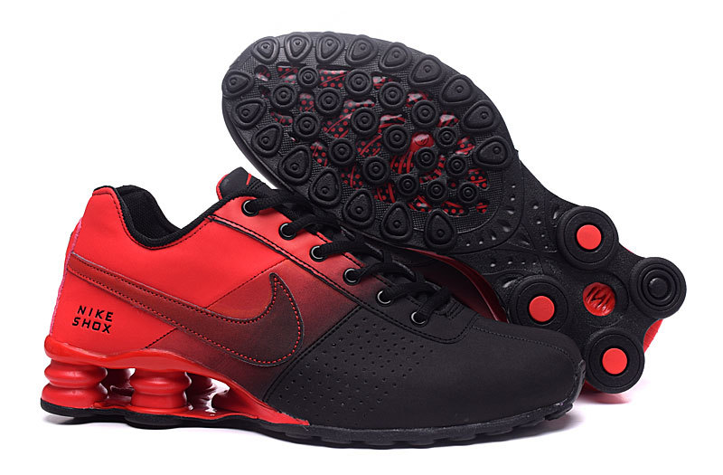 New Women Nike Shox OZ D Black Red Shoes
