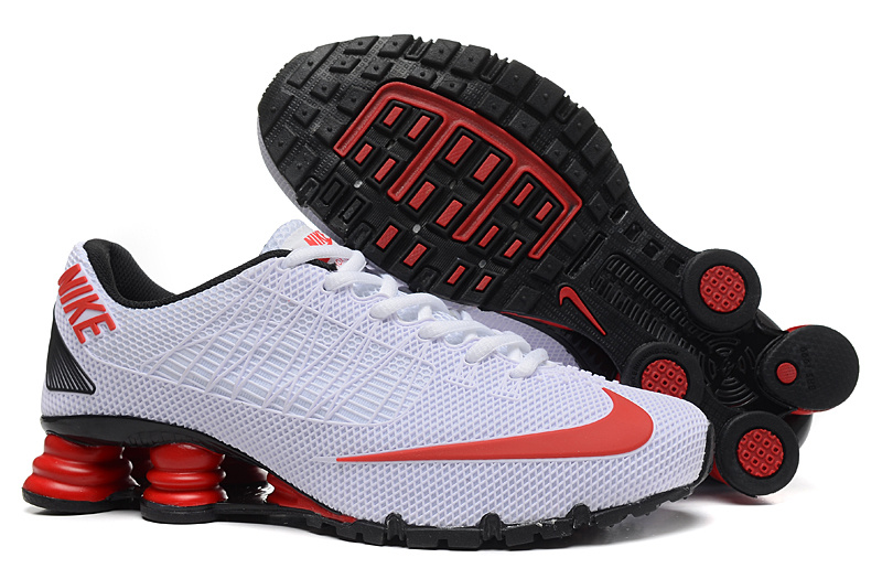 New Nike Shox Tur All White Shoes