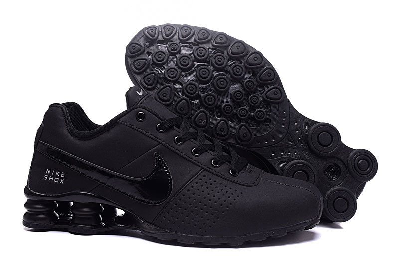 New Women Nike Shox OZ D All Black Shoes