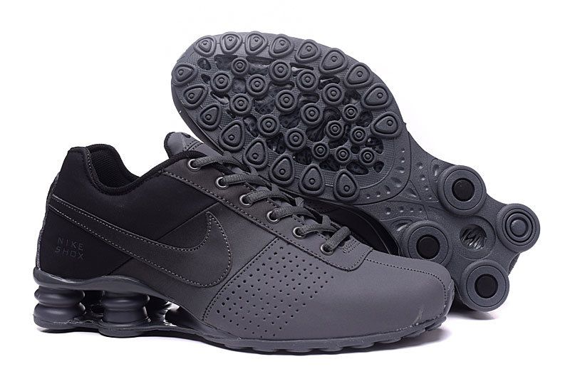 New Women Nike Shox OZ D Carbon Grey Black Shoes