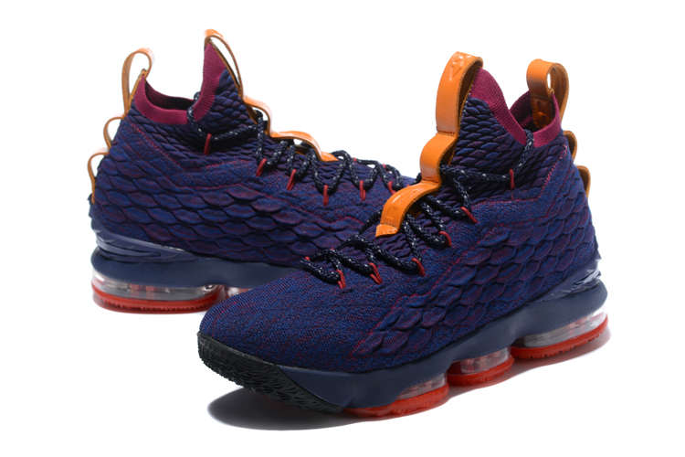 2018 Nike LeBron 15 CAVS Purple Basketball Shoes
