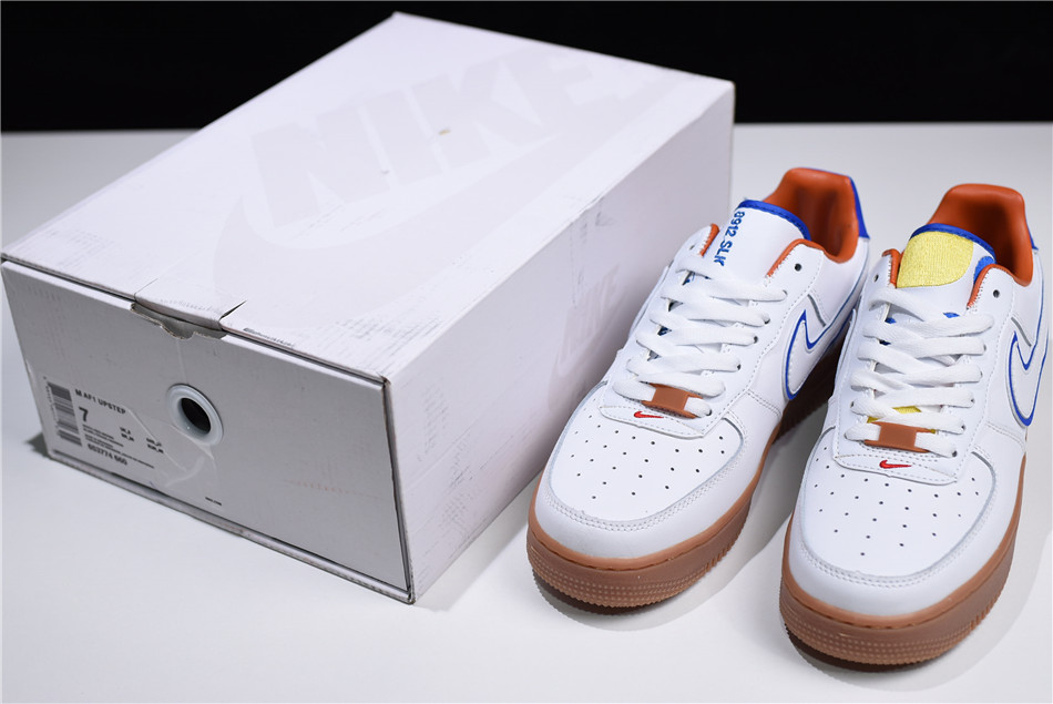nike air force 1 wonder bread white red brown