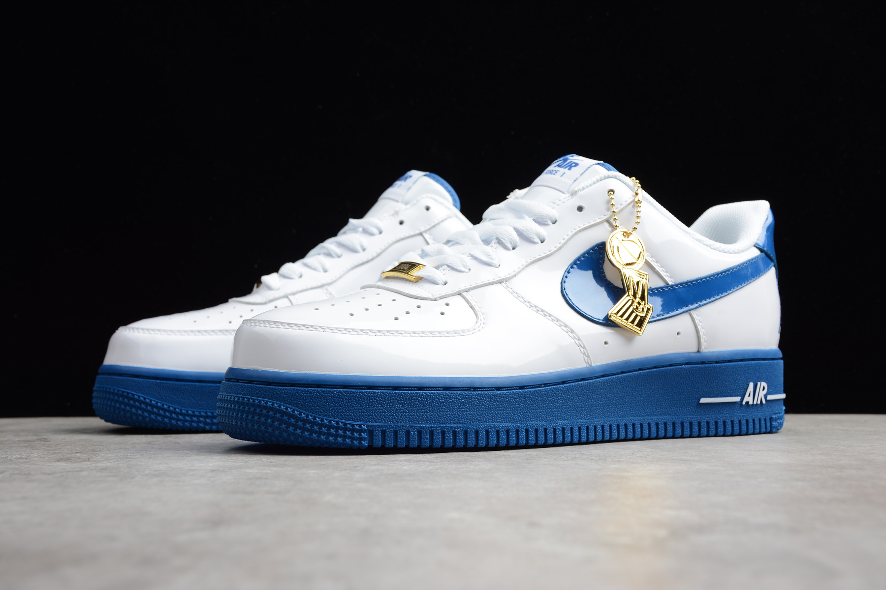 nike air force 1 low qs rude awakening white blue jay