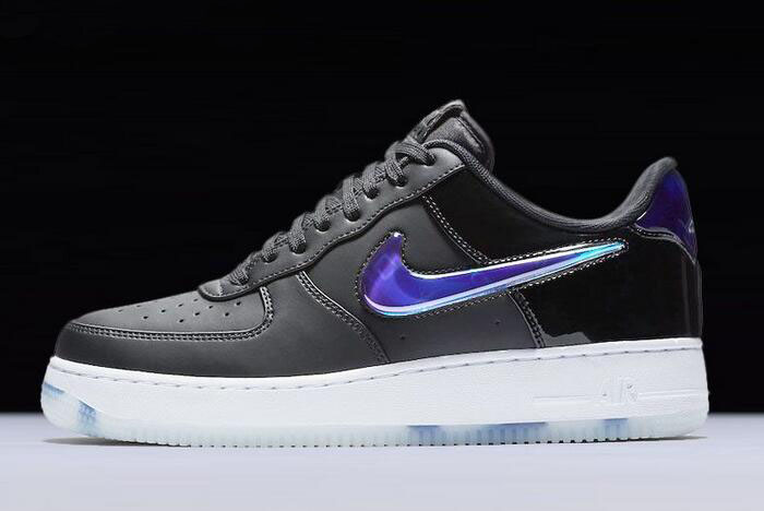 playstation x nike air force 1 low black cobalt blaze